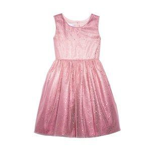 Frais Pink Ombre Star Tulle Dress GIRLS NWT